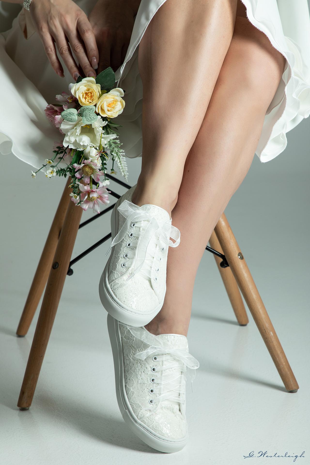 gratis bruidssneakers
